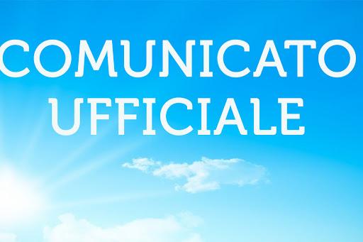Comunicato C7 N° 1 del 11/08/2020